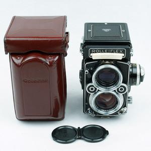 禄来/Rollei Rolleiflex 2.8F Xenotar 白脸 极上品!