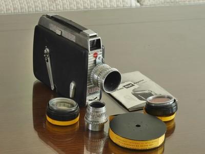 包邮美国柯达Kodak Cine 16毫米摄影机+25 1.