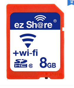 易享派  EZ share WIFI  SD卡套   8G
