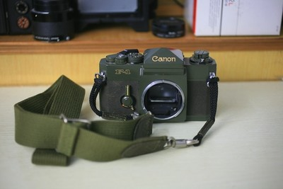 佳能 军绿版 OD F-1 胶片相机