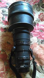 Nikon 300mm 2.8ED 手动对焦镜头 带原厂前U