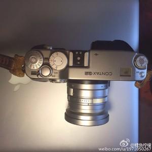 contax g2 +g45 银色 带皮套 UV,镜头筒