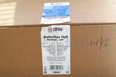 Rolleiflex 禄来 HY6 加 80/2.8 头加  645 后背 全新全包装 C00783