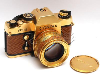 Contax/康泰时 RTS 50/1.4 Golden 金机 好成色 L00434