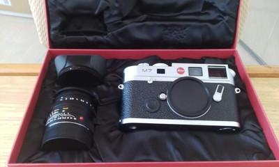 莱卡建国50周年限量版相机M7+3514