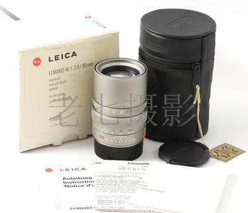 Leica/徕卡 Elmairt M 90/2.8 E46 钛版 6bit 包装附件齐 L00873