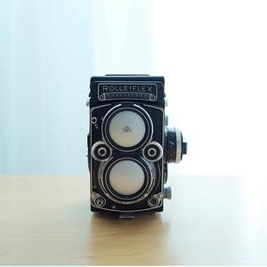 出Rolleiflex 2.8F+bay3近摄镜 成色美 仅