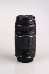 99新佳能75-300III三代带usm马达长焦镜头