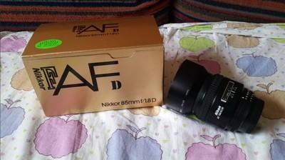 98新带包装尼康AF 85 1.8D经典人像镜头