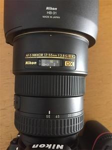 尼康17-55mm 1:2.8G ED镜皇
