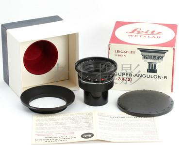 99新 徕卡 Leica/徕卡 R 21/3.4 Super Anguon  C00690