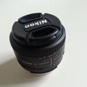自用尼康尼克尔50mmf/1.8D镜头(全国联保)