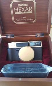柯尼卡120周年镀金旁轴相机