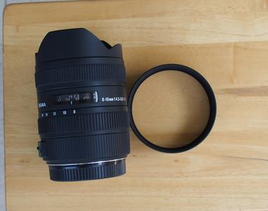 出售 98新 适马 自用 适马8-16mm F4.5-5.6
