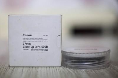 佳能原装500D 77mm 近摄镜 闲置转让