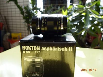 福伦达 nokton aspharisch 35/1.2 II