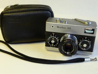 禄莱 Rollei 35 最早期德产原型机#3001389