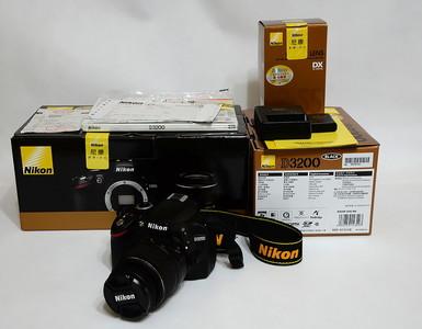 D3200 18-55 II 套机