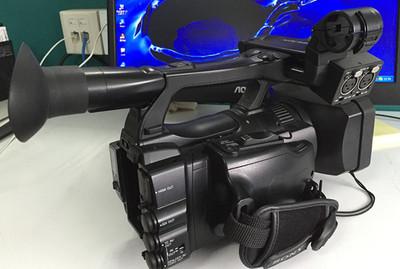 索尼专业摄像机 接近新机EX160