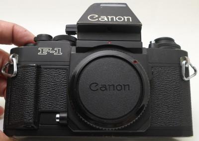 Canon/佳能 F-1 AE顶 黑漆机身