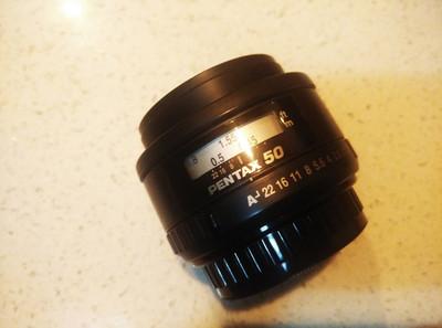 清理自用PENTAX宾得FA50 1.4 ,360闪灯, DA50-200