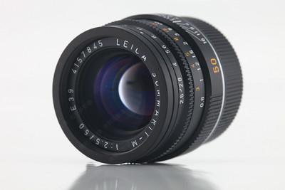 Leica徕卡M50/2.5 6BIT全新样机【旧换新】
