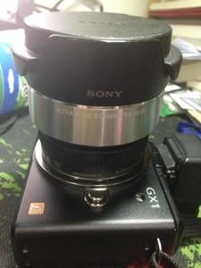 松下14mm F2.5饼干头+sony ecu-1