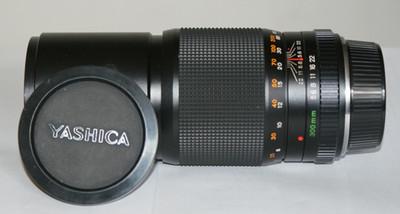 带包装的雅西卡300定焦头