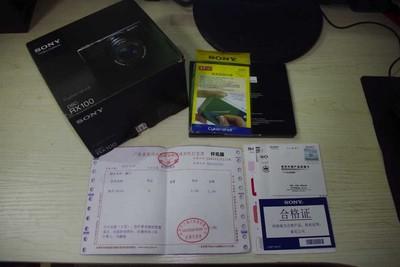98新 索尼行货RX100