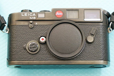 徕卡Leica M6 小盘 旁轴相机,徕卡相机,黑色