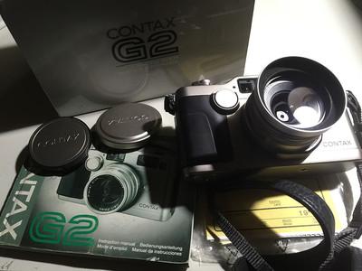 康泰时 Contax G2 + G28/2.8 一套