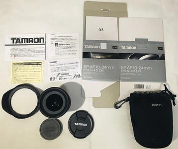 【学生党自用】腾龙 TAMRON SP AF 10-24mm