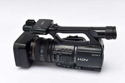 出成色很新索尼HDR-FX1000E高清摄像机