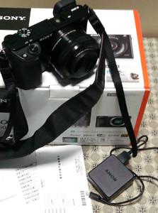 索尼A6000 微单16 50 套机 强对焦相机