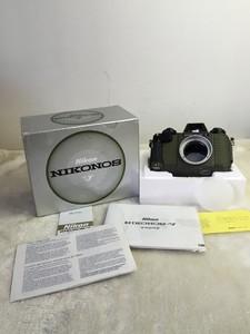 尼康 NIKONOS-V 军绿 水下相机 全新带包装说明书