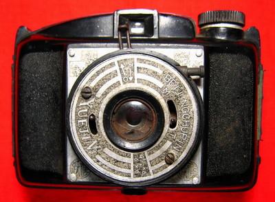 国产跃进牌收藏相机