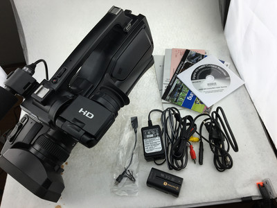 出售95新索尼MC1500P肩扛式数码摄像机,全套带包装配件