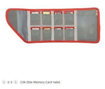 美国凯立克CLIK ELITE 最佳存取记忆咭管理系统保护包