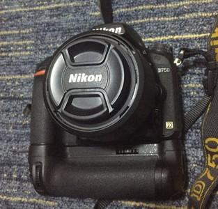 尼康D750+DF版50/1.8G镜头 家用闲置