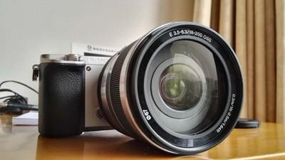 SONY a6000/ILCE-6000+E18-200一代