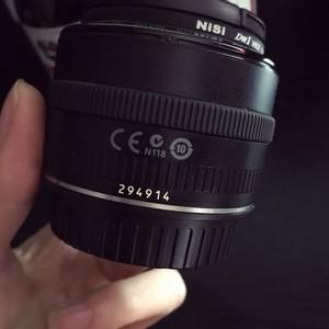 佳能35mm-F2定焦镜头