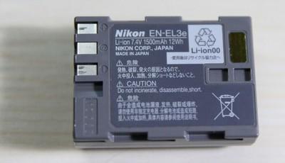 EN-EL3e(D700等机器用)原装电池