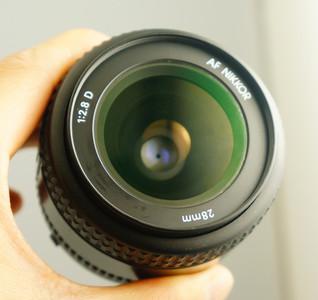 尼康 NIKON AF 28 F2.8D  小广角镜头
