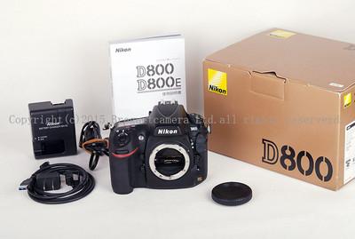 【美品快门9772次】尼康 D800  3600万像素数码相机,带包装 #jp16274