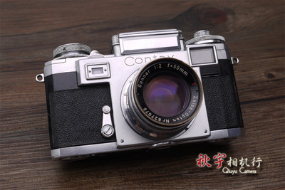 康泰时经典旁轴机王 Contax IIIa 带 Sonnar 50mm F2 镜头