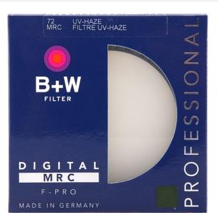 B+W 72mm MRC-UV多层加膜铜接环