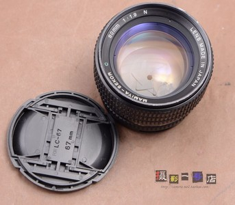 B MAMIYA 玛米亚 相机 645用 80/1.9N 新款 80mm f1.9