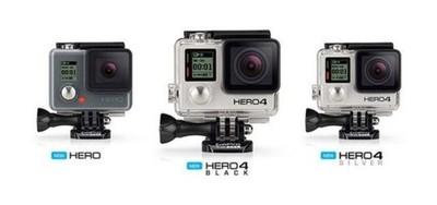 美国Gopro运动相机 Gopro Hero4 银狗4