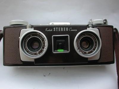成色还不错的柯达 Kodak Stereo 立体相机!