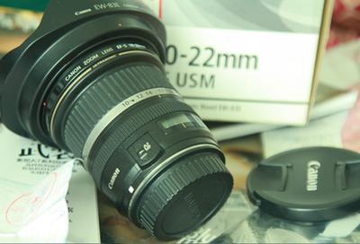 国行佳能CanonEF-S 10-22mm f/3.5-4.5 USM 广角镜头